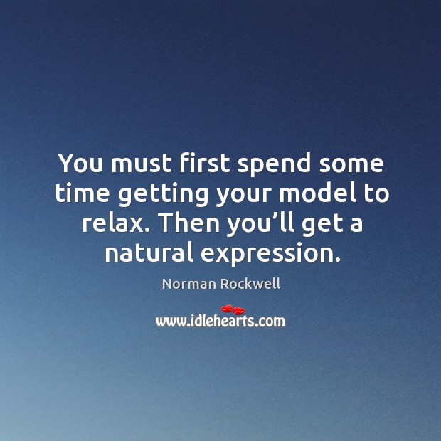 You must first spend some time getting your model to relax. Then you'll get a natural expression. Image