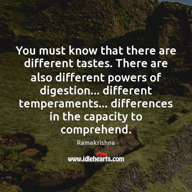 Image, You must know that there are different tastes. There are also different