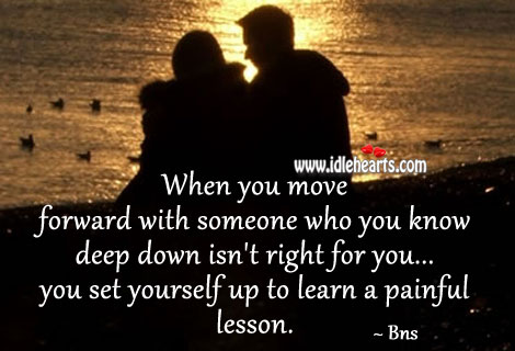 Learn a painful lesson Bns Picture Quote