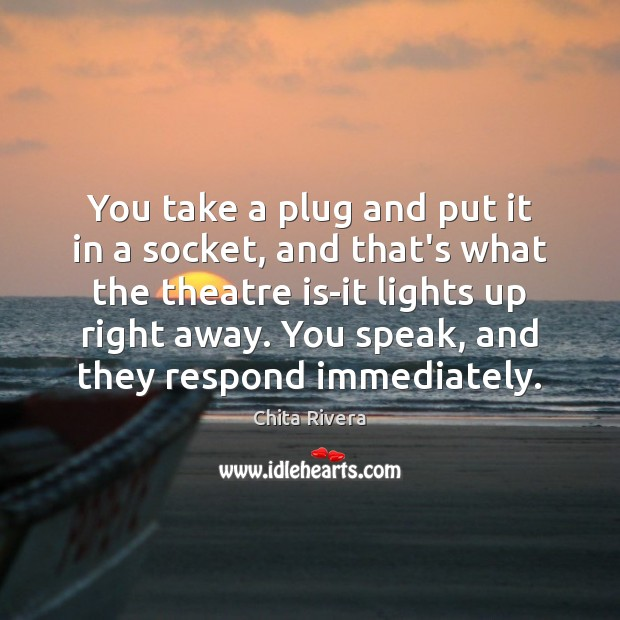 You take a plug and put it in a socket, and that's Image