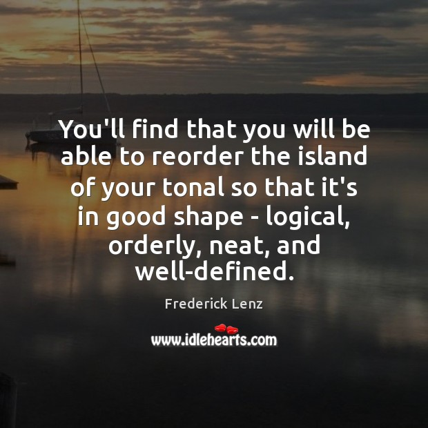 Image, You'll find that you will be able to reorder the island of