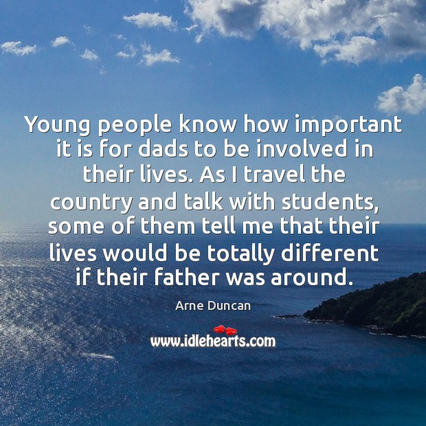 Image, Young people know how important it is for dads to be involved in their lives.