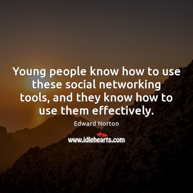 Image about Young people know how to use these social networking tools, and they