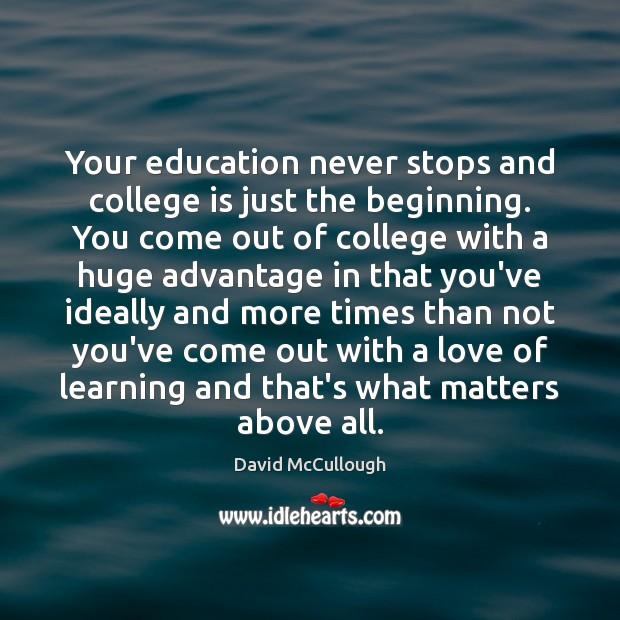 College Quotes Image