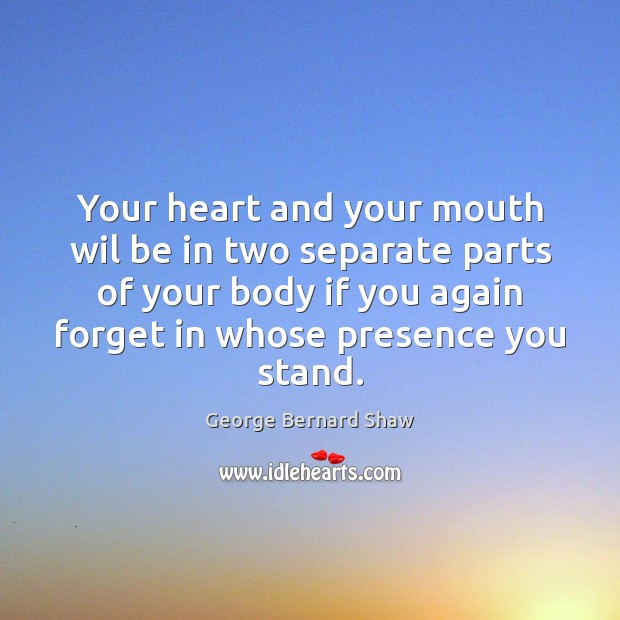 Your heart and your mouth wil be in two separate parts of Image