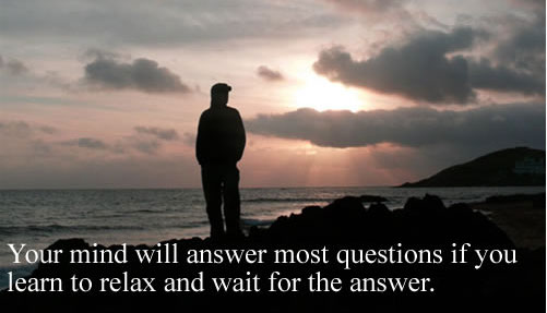 Learn to Relax and Wait for the Answer