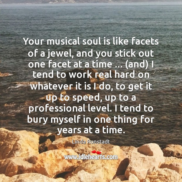 Image about Your musical soul is like facets of a jewel, and you stick