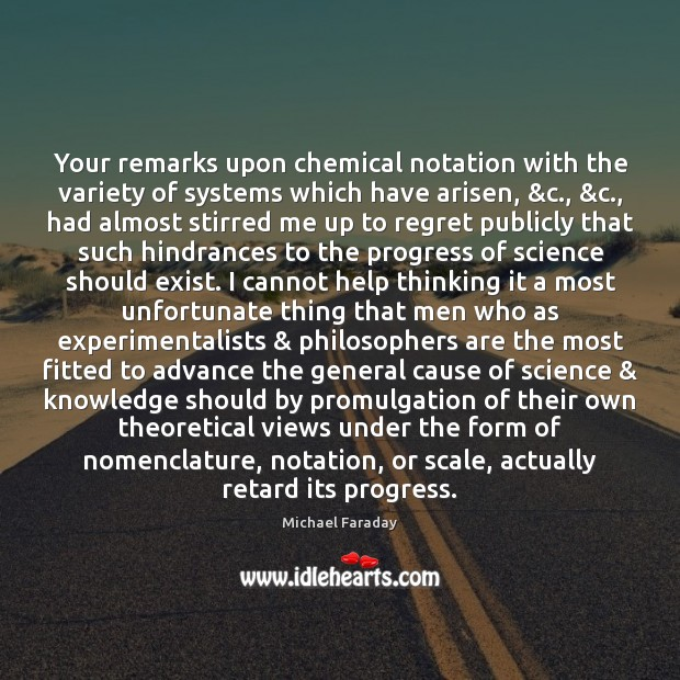 Your remarks upon chemical notation with the variety of systems which have Image