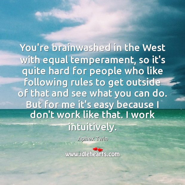 Image, You're brainwashed in the West with equal temperament, so it's quite hard