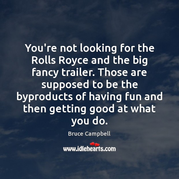 You're not looking for the Rolls Royce and the big fancy trailer. Image