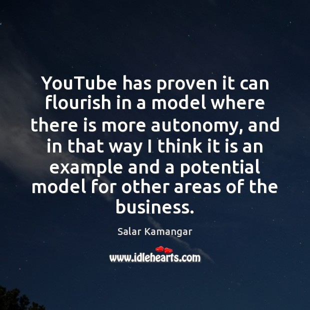 YouTube has proven it can flourish in a model where there is Image
